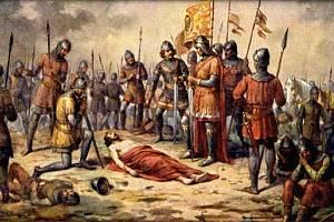 Přemysl Otakar II. padl u Suchých Krut v den sv. Rufa 1278