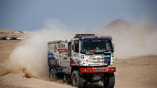 Martin Kolomý na Rallye Dakar 2019.