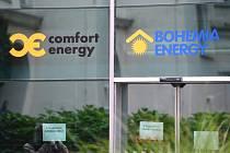 Zákaznické centrum firmy Bohemia Energy v Paláci Archa v Praze v ulici Na Poříčí