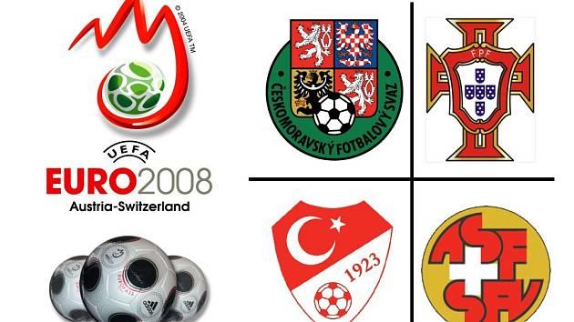 Ve skupině A na sebe narazí Česká republika, Portugalsko, Turecko a Švýcarsko.