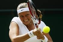 Petra Kvitová postoupila ve Wimbledonu do čtvrtfinále.