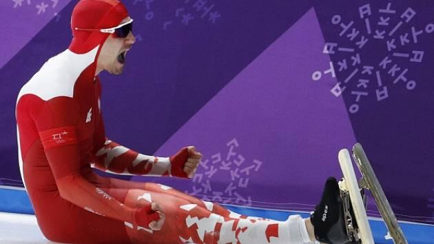 Polák Nogal se hned po startu ocitl na ledě. Olympijský sen se rozplynul.