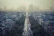 Smogová situace v Paříži
