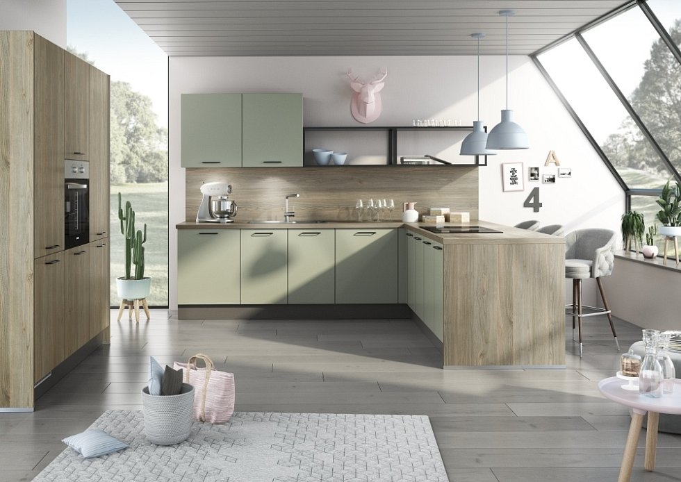 Kuchyně je především pracovní prostor. A v něm byste měli mít vždy vše potřebné po ruce.