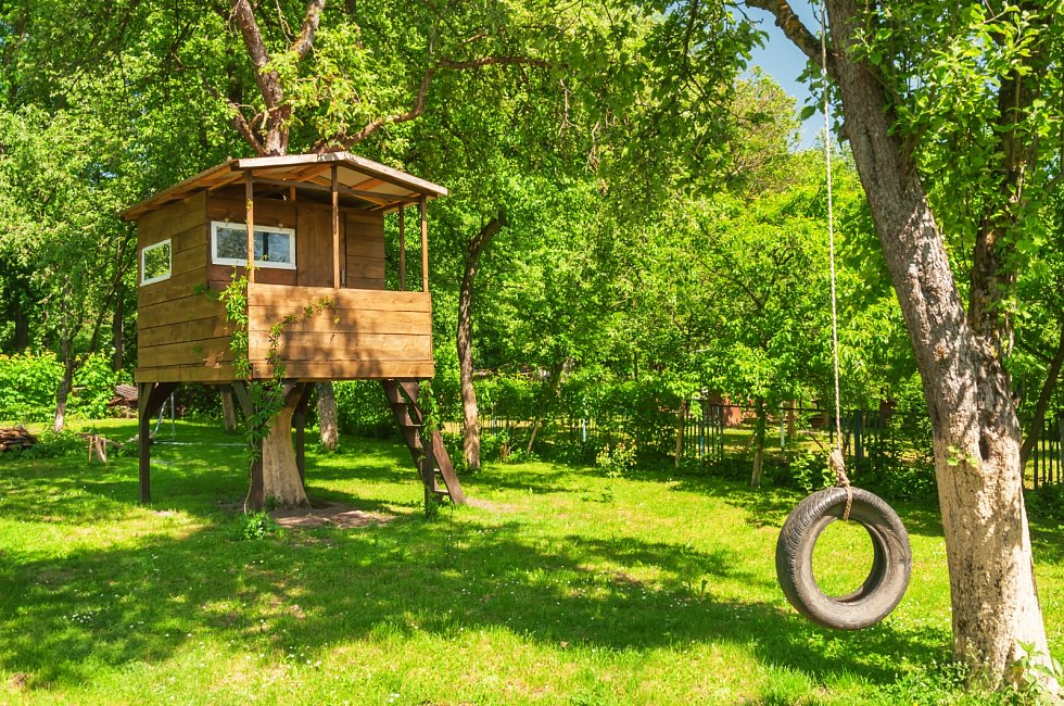 Zahradní domky mají mnoho využití.