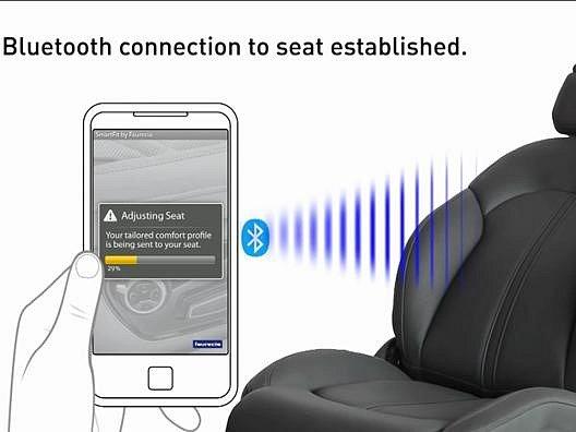 Chytrá aplikace nastaví vaše sedadlo.