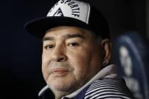 Bývalý argentinský fotbalista Diego Maradona na snímku ze 7. března 2020.