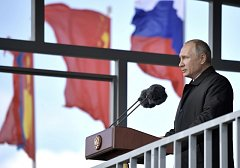 Vladimir Putin navštívil vojenské cvičení Vostok 2018