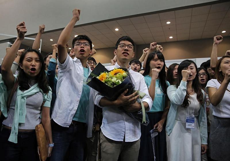 Obyvatelé Hong Kongu se bouří