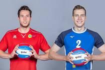 Marek (vlevo) a Radim Šulcovi.