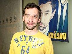 Ondřej Sokol na tiskovce ke svému novému filmu Krásno.