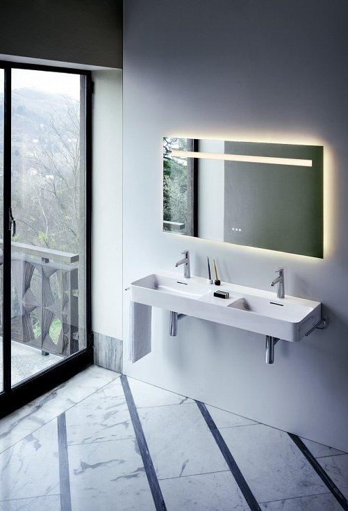 Vedle sanitární keramiky a dalšího koupelnového vybavení je třeba věnovat pozornost i výběru svítidel.