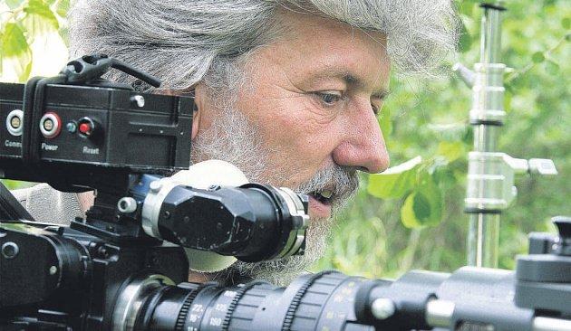 Milovník zvířat. Laurent Charbonnier nejdřív zvířata fotografoval, od dvaceti let je i filmuje.