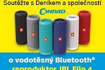Vodotěsný Bluetooth od Conrad.