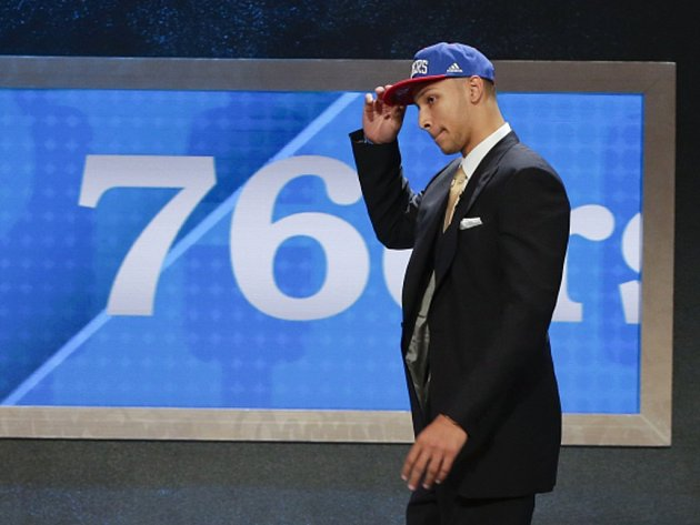 Jednička draftu NBA Ben Simmons.