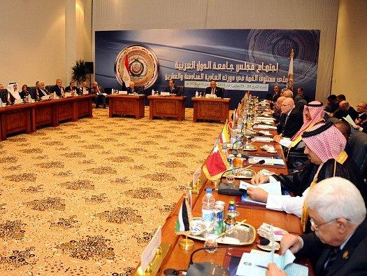 Summit Ligy arabských států v Egyptě.