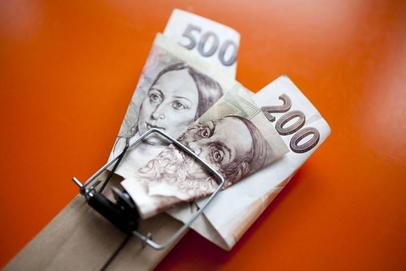 Půjčka jako finanční past - ilustrační foto