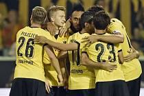Dortmund slaví postup v Evropské lize