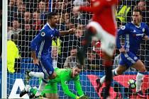 Místo drama exhibice. Chelsea nasázela Manchesteru United čtyři góly.