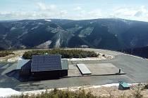 Fotovoltaická elektrárna Dlouhé stráně