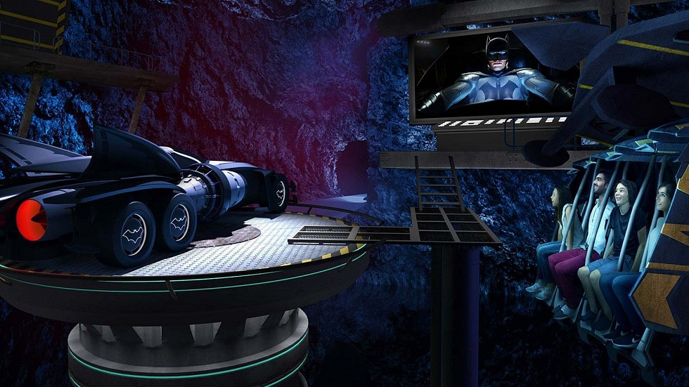 Zábavní park Warner Bros World Abú Zabí