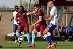 Zápas chorvatského týmu Hajduk Split proti maltskému týmu Gzira.