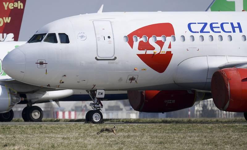Odstavené letadlo ČSA