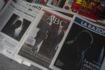 Juan Carlos I. v novinách