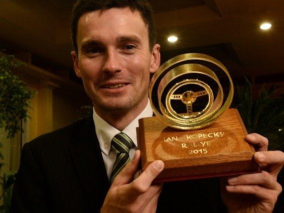 Jan Kopecký s trofejí