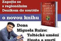 Zapojte se s regionálním Deníkem do soutěže o novou knihu Dona Miguela Ruize.
