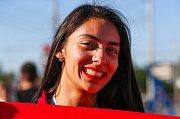 Tuniská fanynka. Fotbalové MS Rusko 2018
