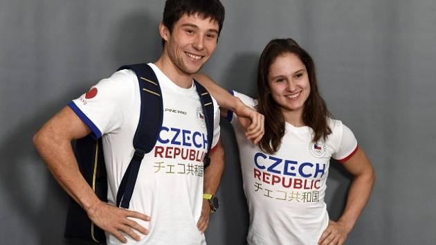 Jiří Prskavec a Aneta Holasová v kolekci českých sportovců pro olympijské hry v Tokiu 2020