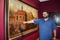 Řádění husitů na Mostecku inspirovala v minulosti i barokní umělce. Na obraze s názvem Vražda jeptišek v Mostě je zachycené přepadení ženského kláštera v Zahražanech.