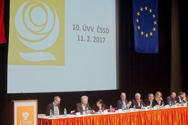 Zasedání ústředního výkonného výboru ČSSD se uskutečnilo 11. února v Praze.