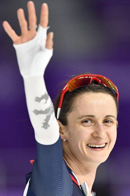 Martina Sáblíková slaví skvělé stříbro.