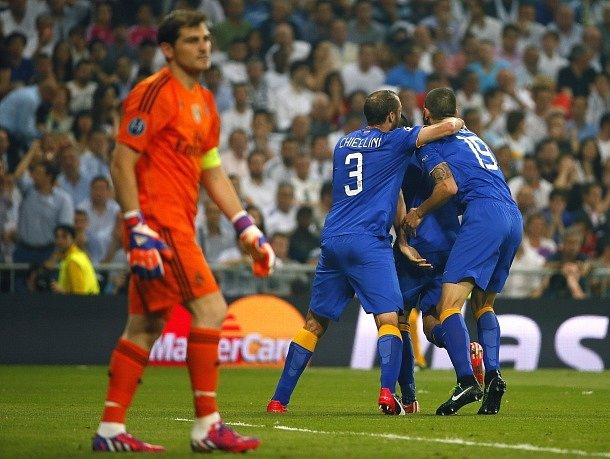 Real Madrid - Juventus Turín: Radost z vyrovnání hostů