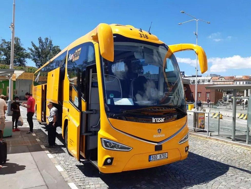 Nový autobus Irizar i8 pro RegioJet.