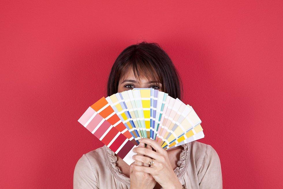 K určování vhodných barev vás navede barevný vzorník.