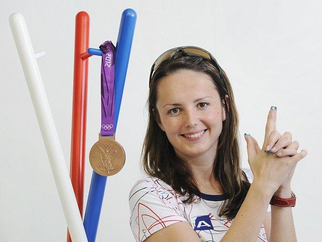 Střelkyně Adéla Sýkorová.