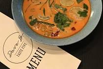 thajská polévka z bistra Dave B. – Taste Five