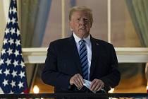 Americký prezident Donald Trump v Bílém domě ve Washingtonu