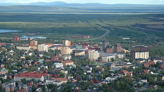 Švédské město Kiruna