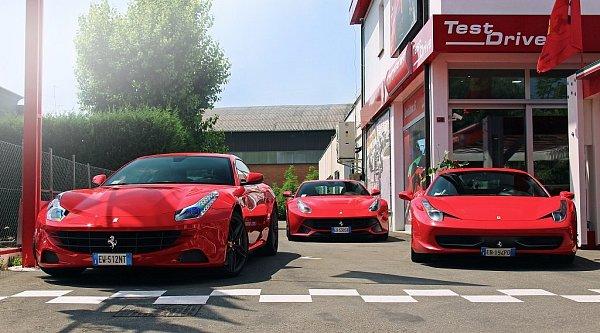 Návštěva domova značky Ferrari.