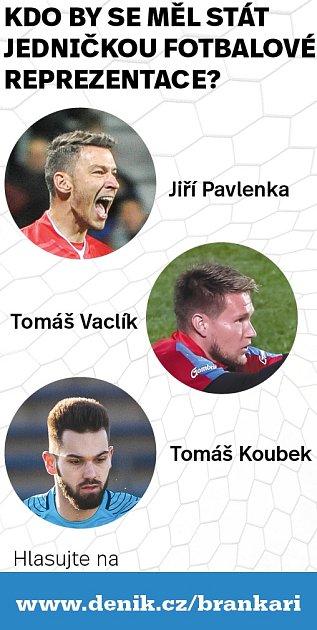 Kdo by se měl stát brankářskou jedničkou fotbalové reprezentace?