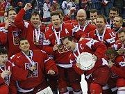Třetí nejlepší hokejový tým světa.