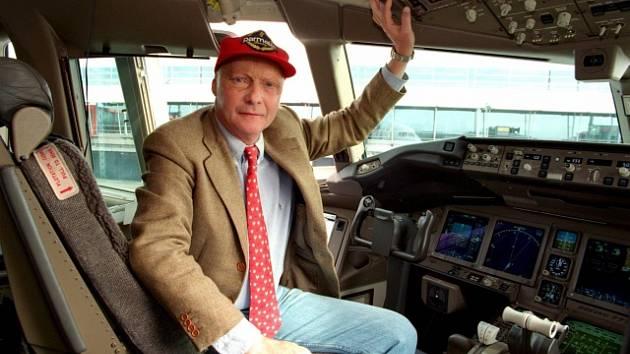 Legendární pilot formule 1 Niki Lauda