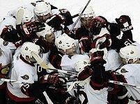 Radost hráčů Ottawy