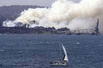 Lesní požár v Austrálii