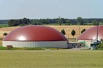 Bioplynová elektrárna.