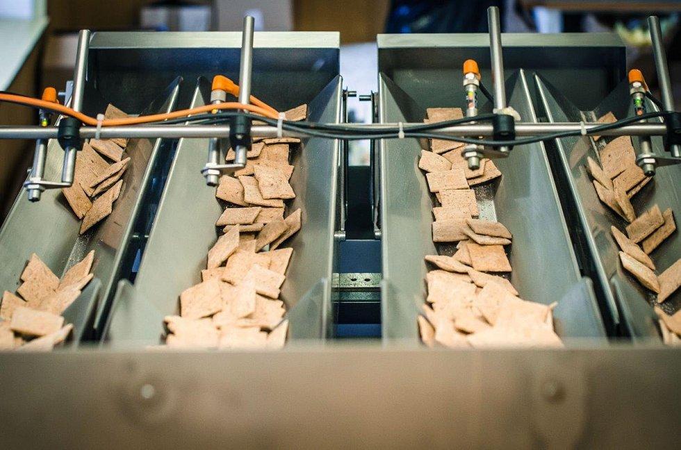 Z výrobního procesu Biopekárny Zemanka